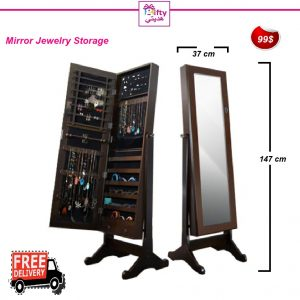 Mirror Jewelry Storage w