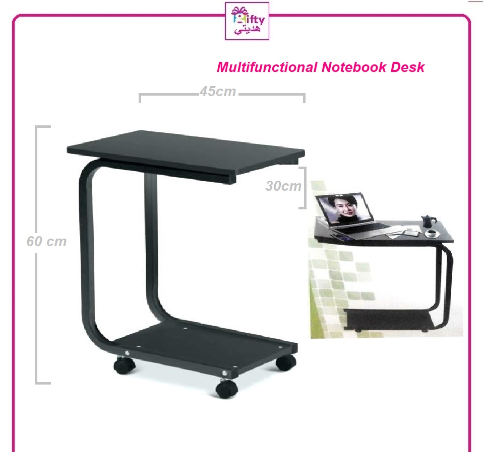 Multifunctional Notebook Desk Folding