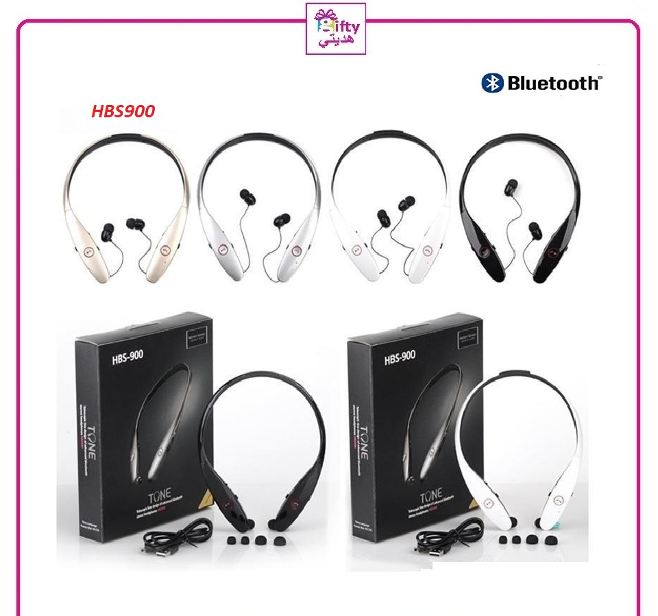 Telescopic line design of advanced Bluetooth stereo headphones HBS900