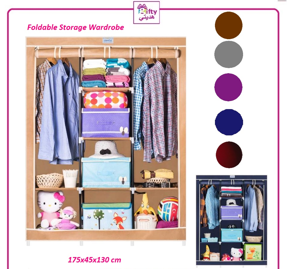 Foldable Storage Wardrobe 98130