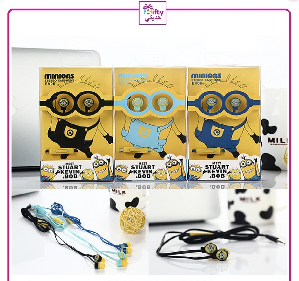Minions Stereo Earphone EV06