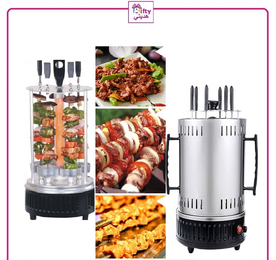 Kebab Maker Home Machine Barbecue 6 Skewers