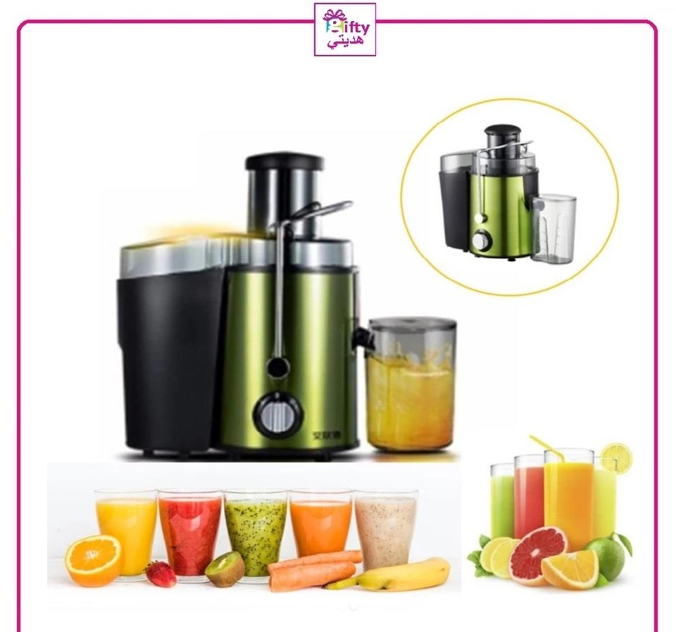 Reomdno High Quality Juicer Stainless Steel Slow Blend Juice Maker