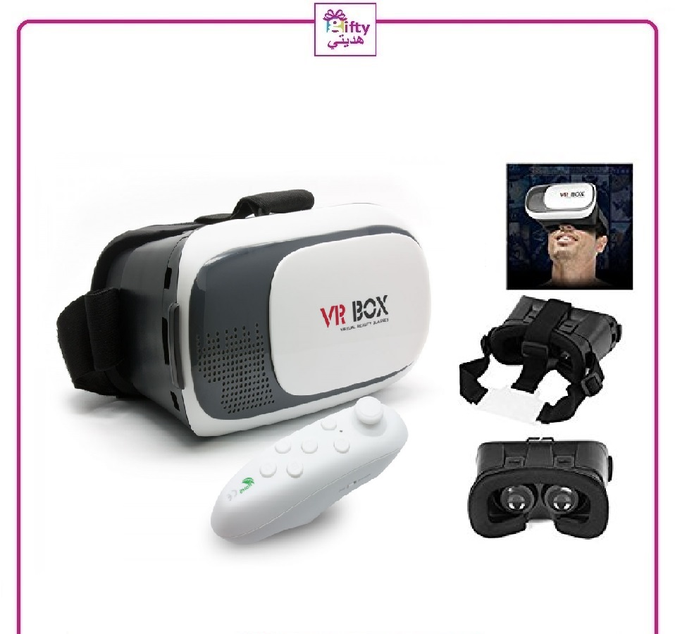 3D Vr Box, With Bluetooth Controller w