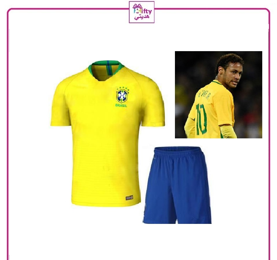 Brazil soccer youth uniform 2018
