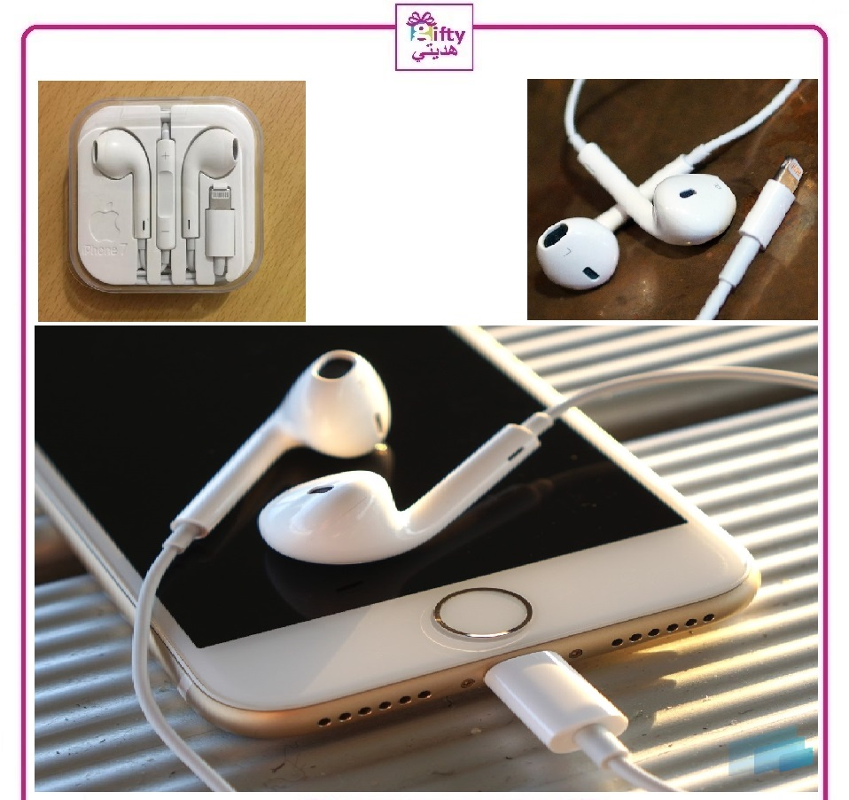 Ear X Earphone With Mic and volume iphone X , E , 7 , 7 Plus , 8 Plus