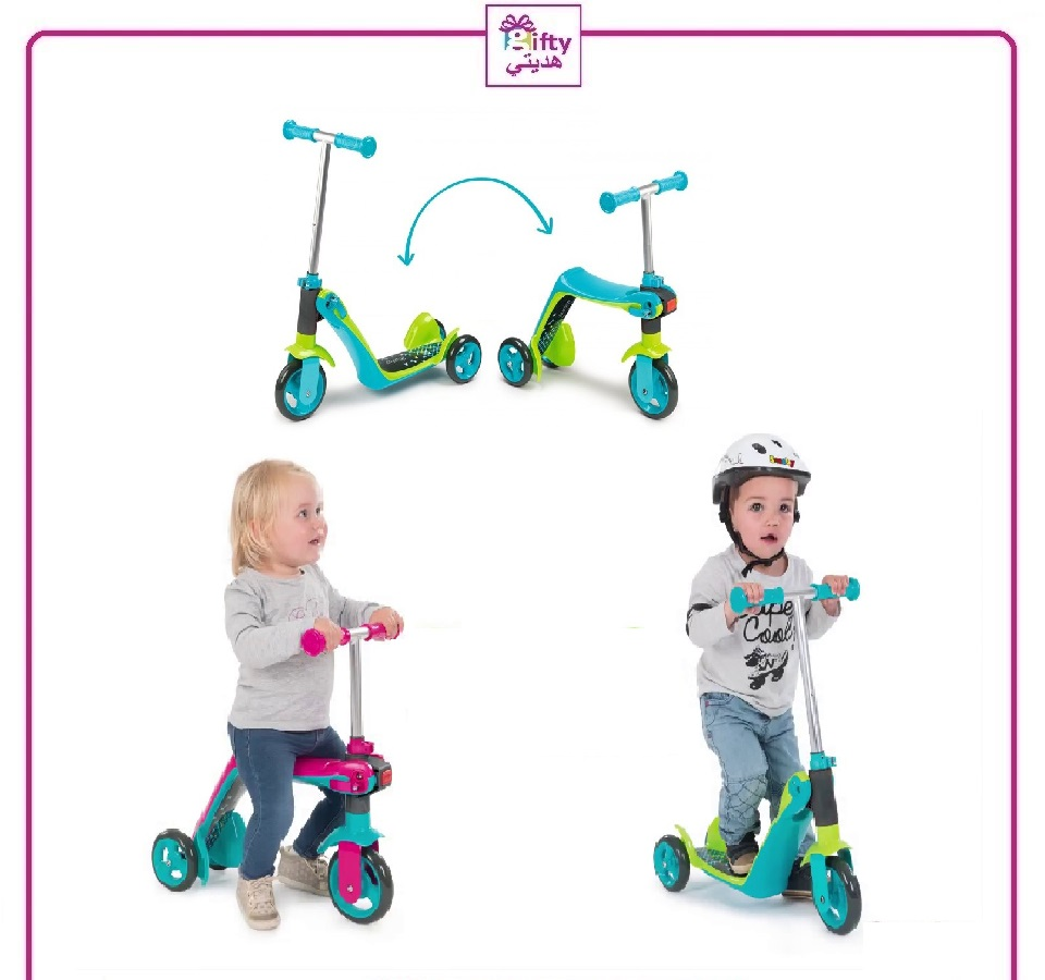 Reversible 2-in-1 Scooter w