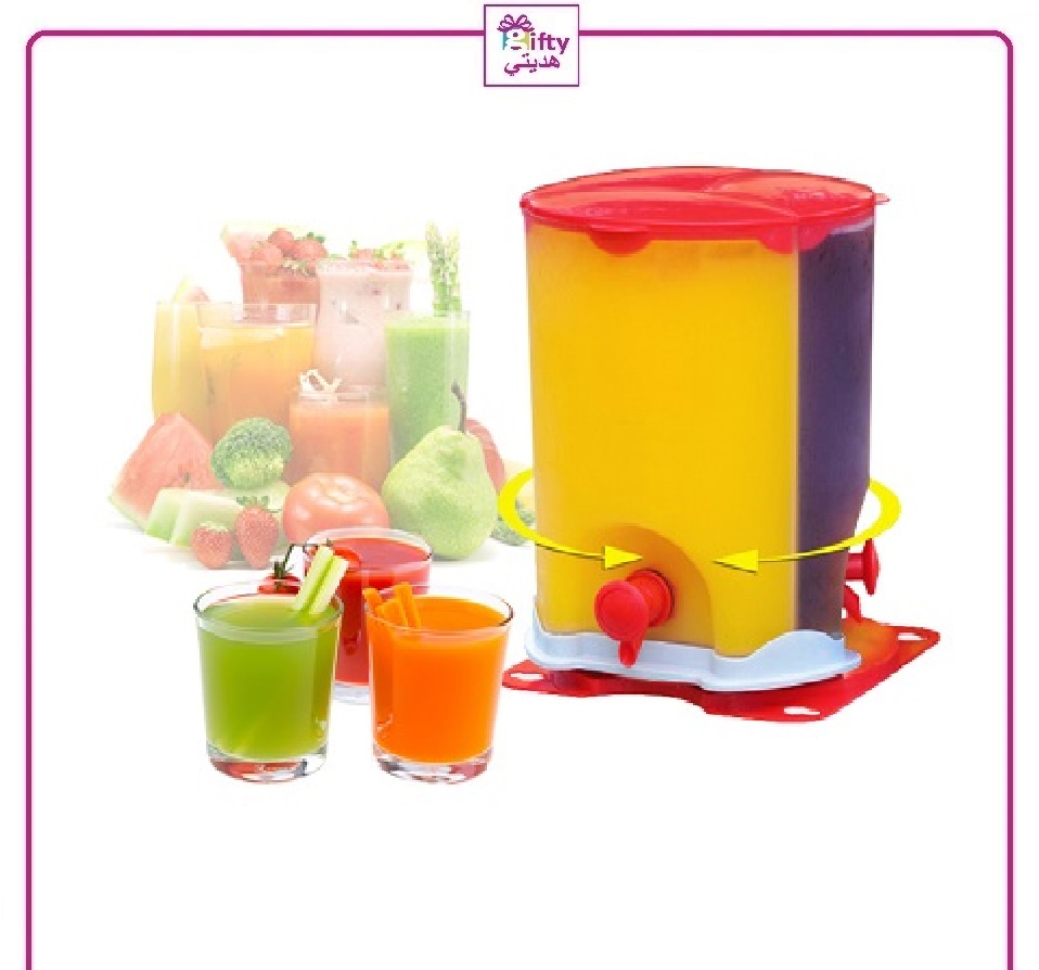 3 Compartment Drink Dispenser W