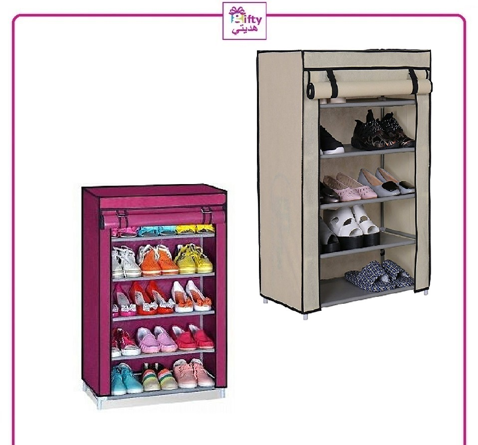 Foldable Shoe Rack 6 layer w