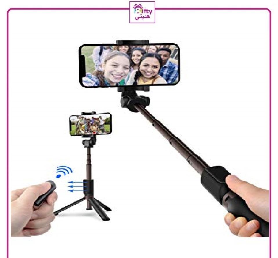 Mini Three Tripod Selfie Bluetooth w