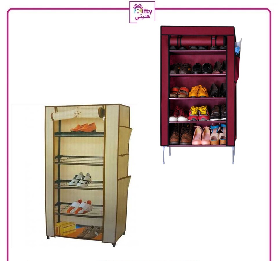 Shoe Cabinet with (5 Shelves Metal)
