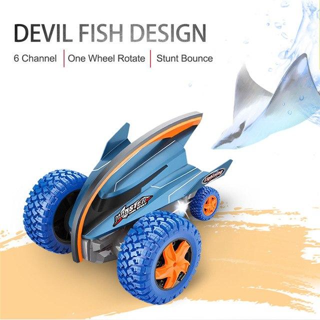 Devil Fish Crazy Gyro Monster Rock