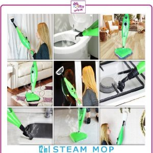 12 IN 1 EASY STEAM CLEANER MOP w