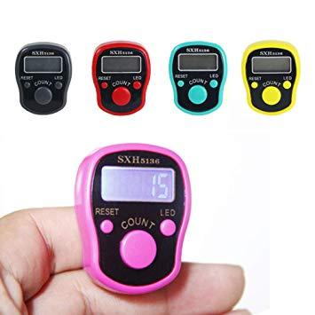 LED light Electronic Digital Finger Counter