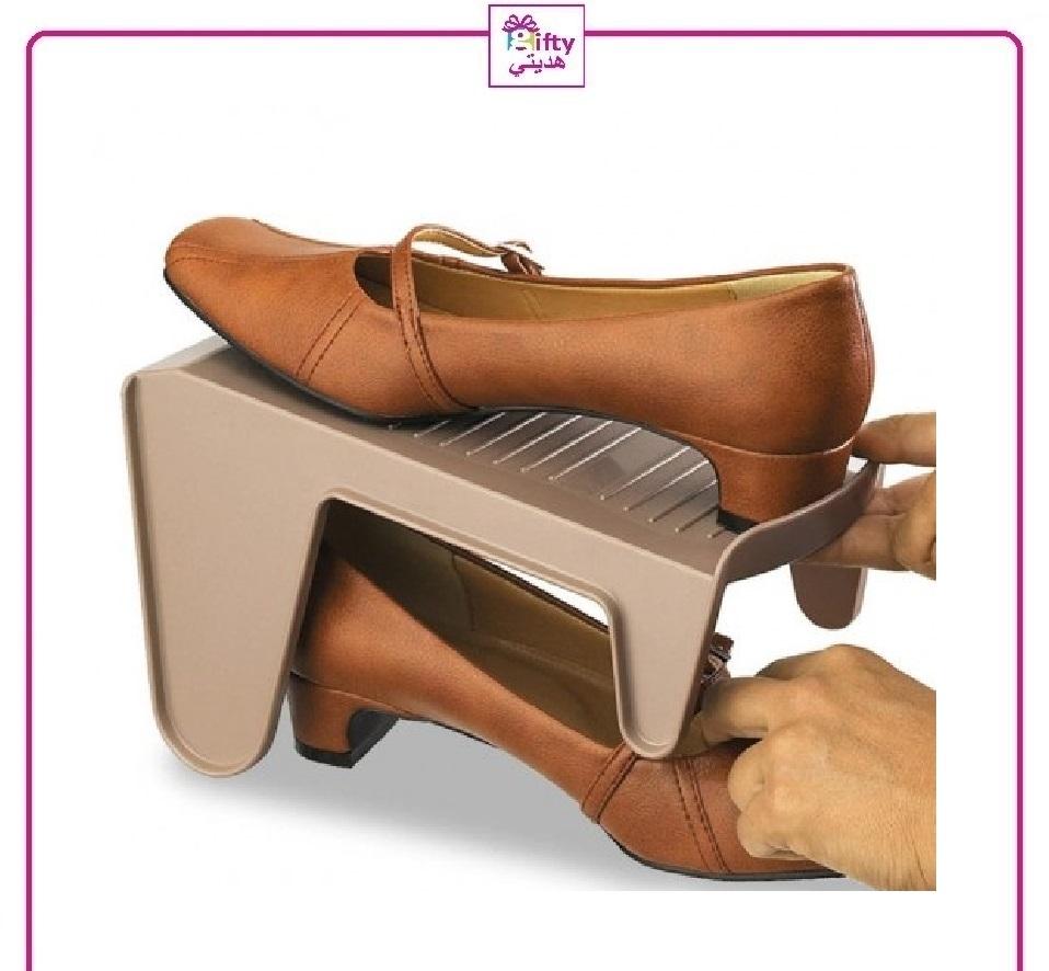 Plastic Adjustable Shoes Storage Rack