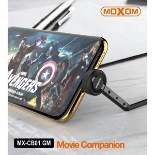 MOXOM Super steady cable 2.4A Stand watch and fast charge Original