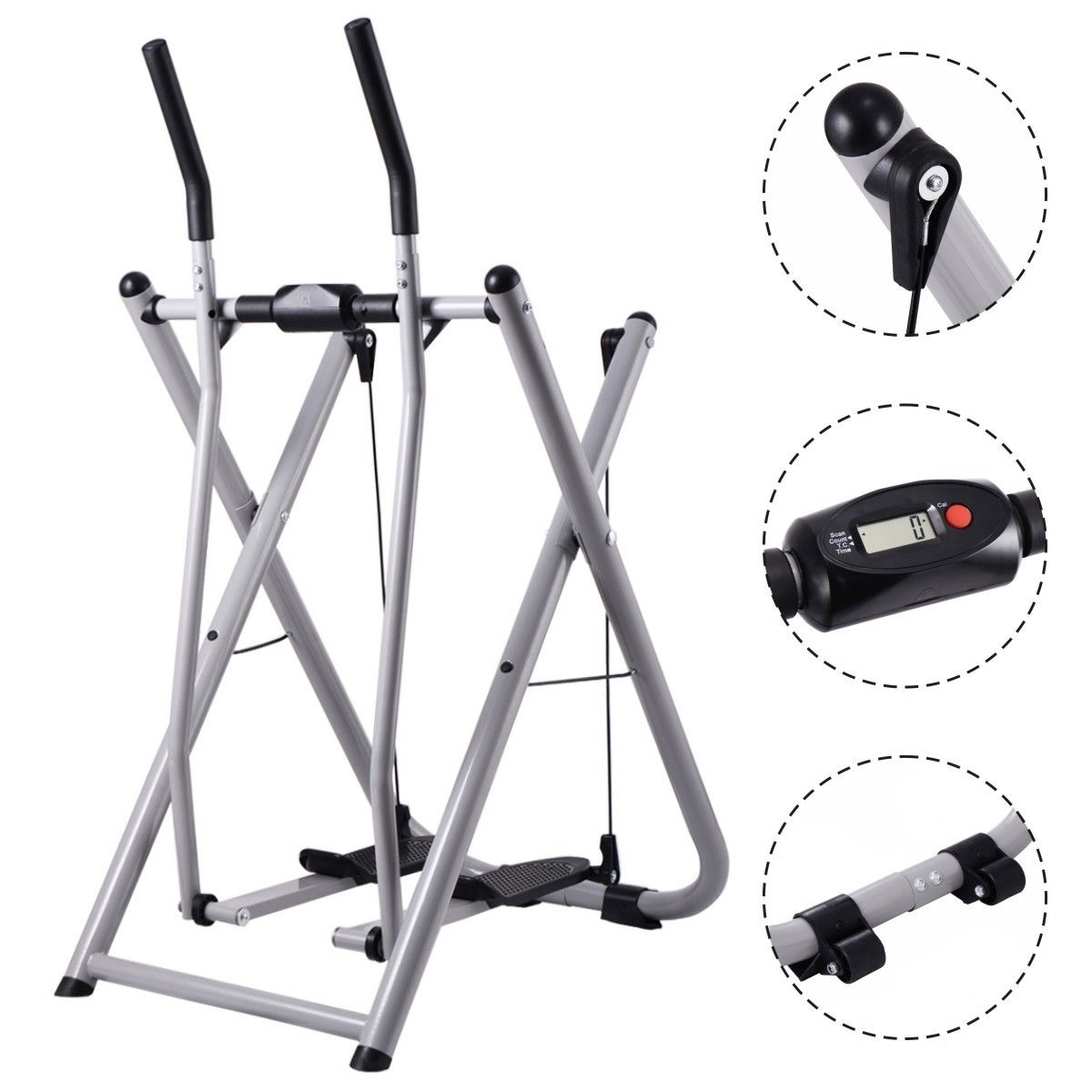Air Walker Cross Trainer Machine