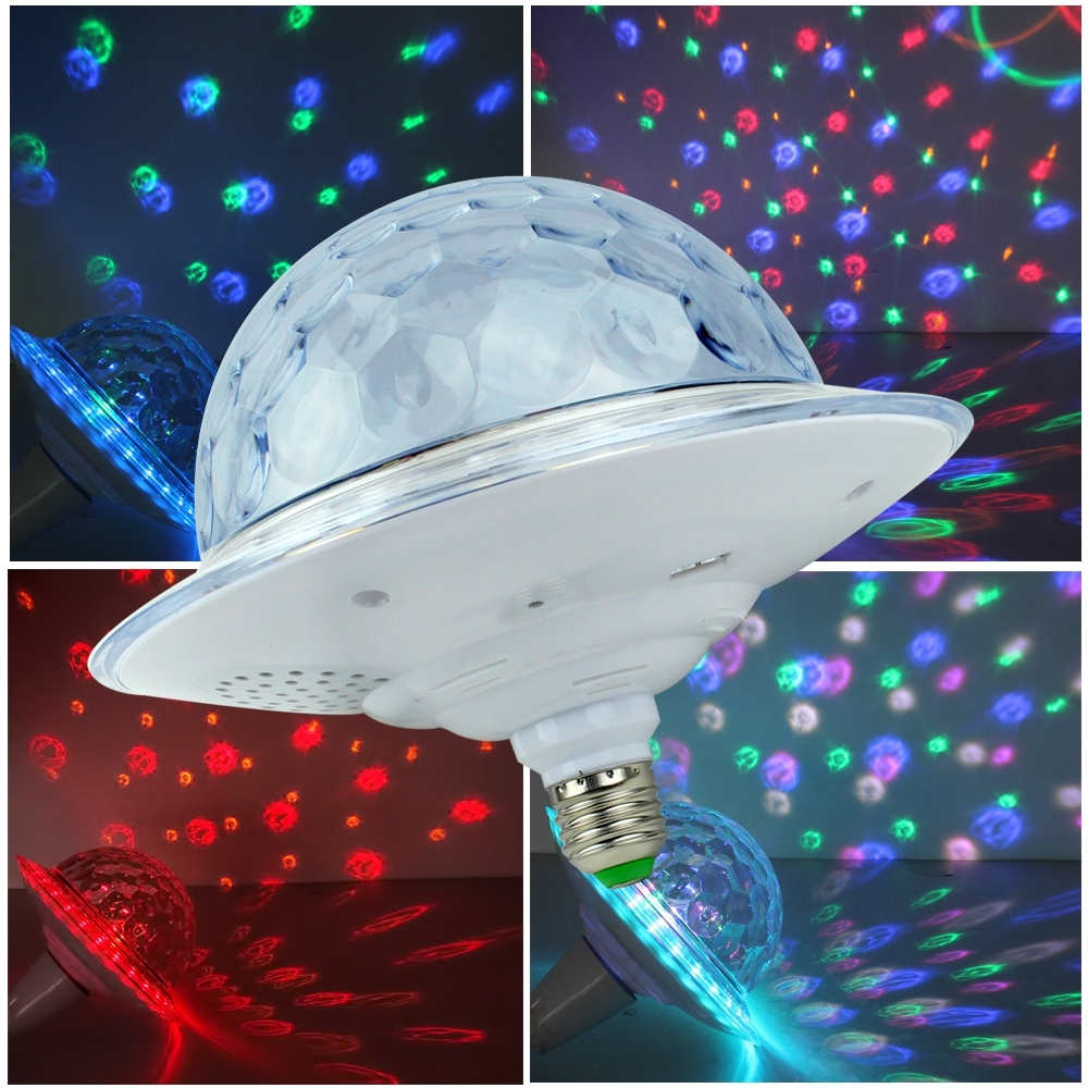 LED UFO Bluetooth Crystal Magic Ball